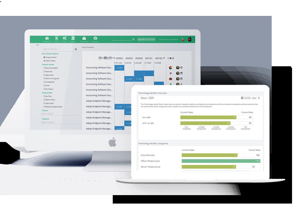 Managed Services Platform screenshot